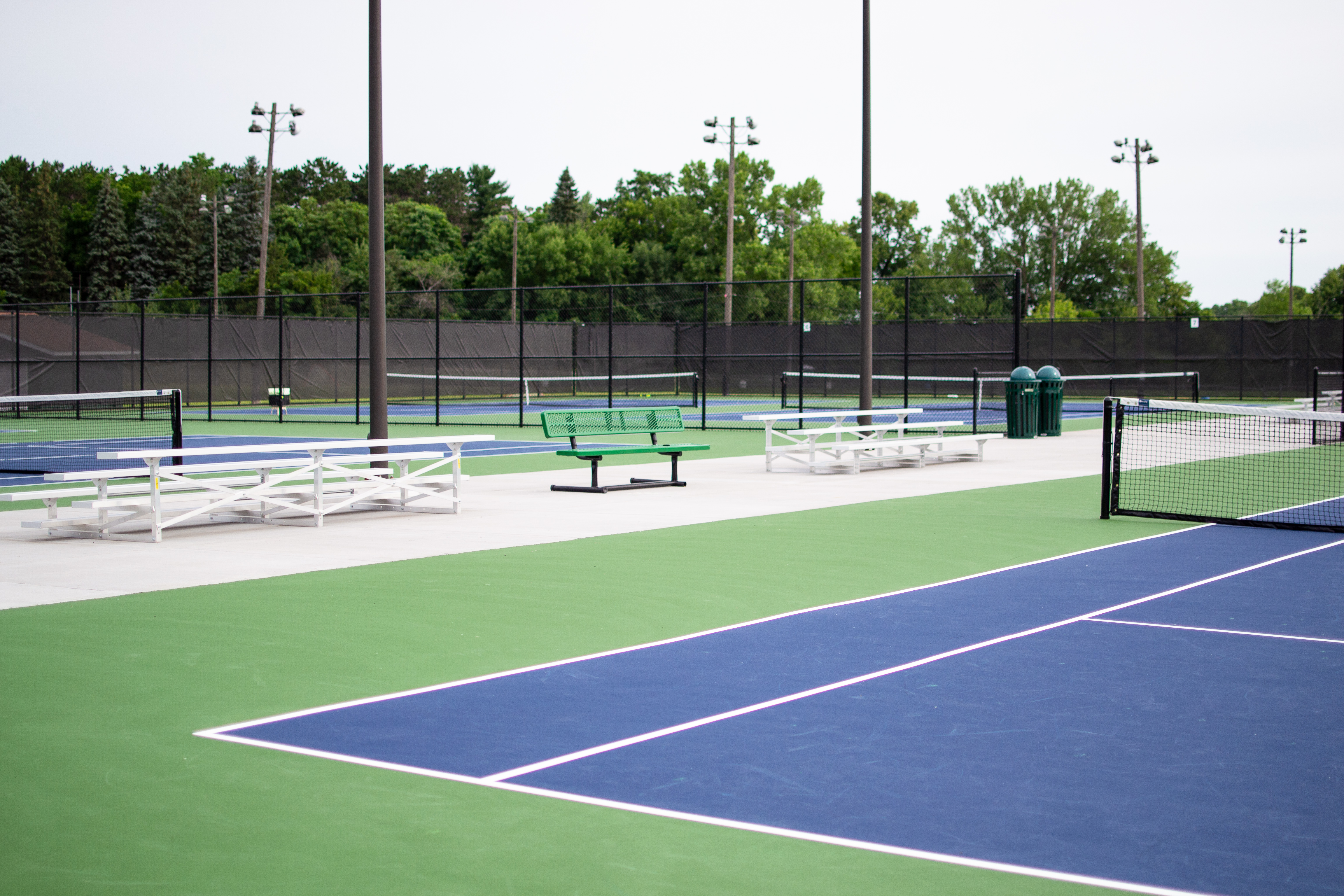 Chisago Lakes Tennis Courts - 8