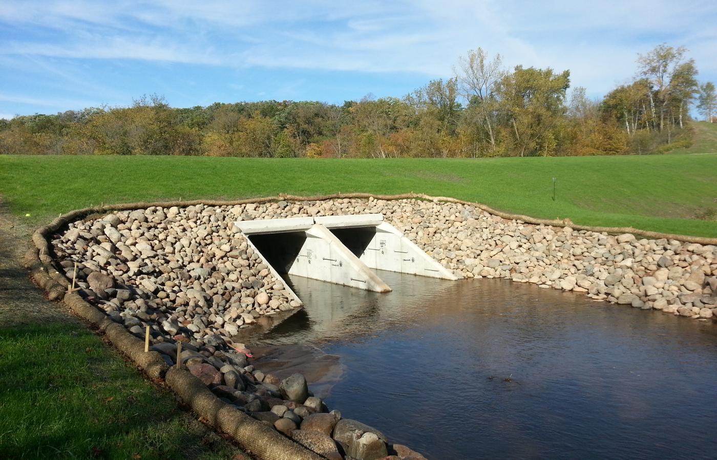 Chisago County Box Culvert - 1