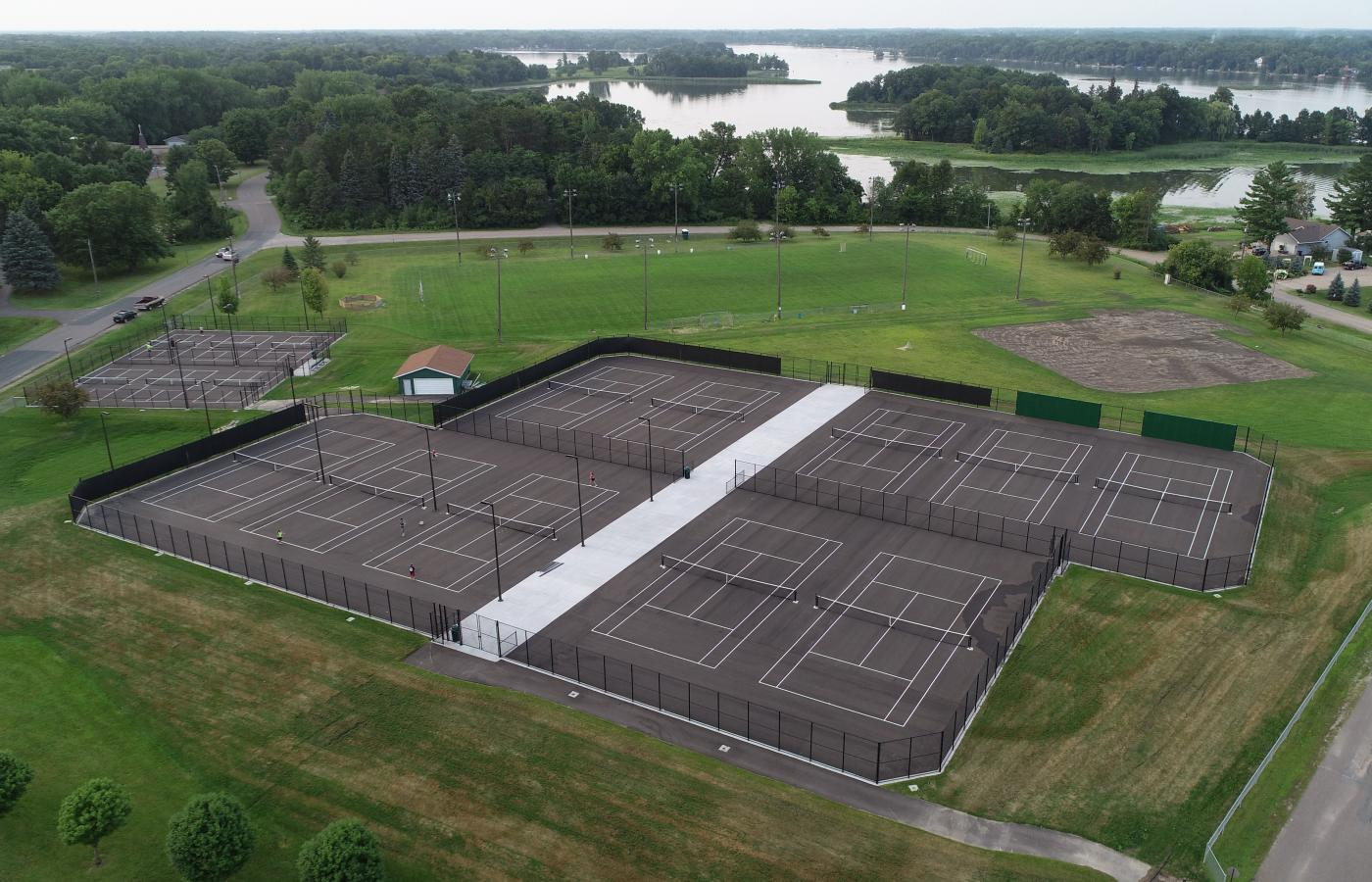 Chisago Lakes Tennis Courts - 3