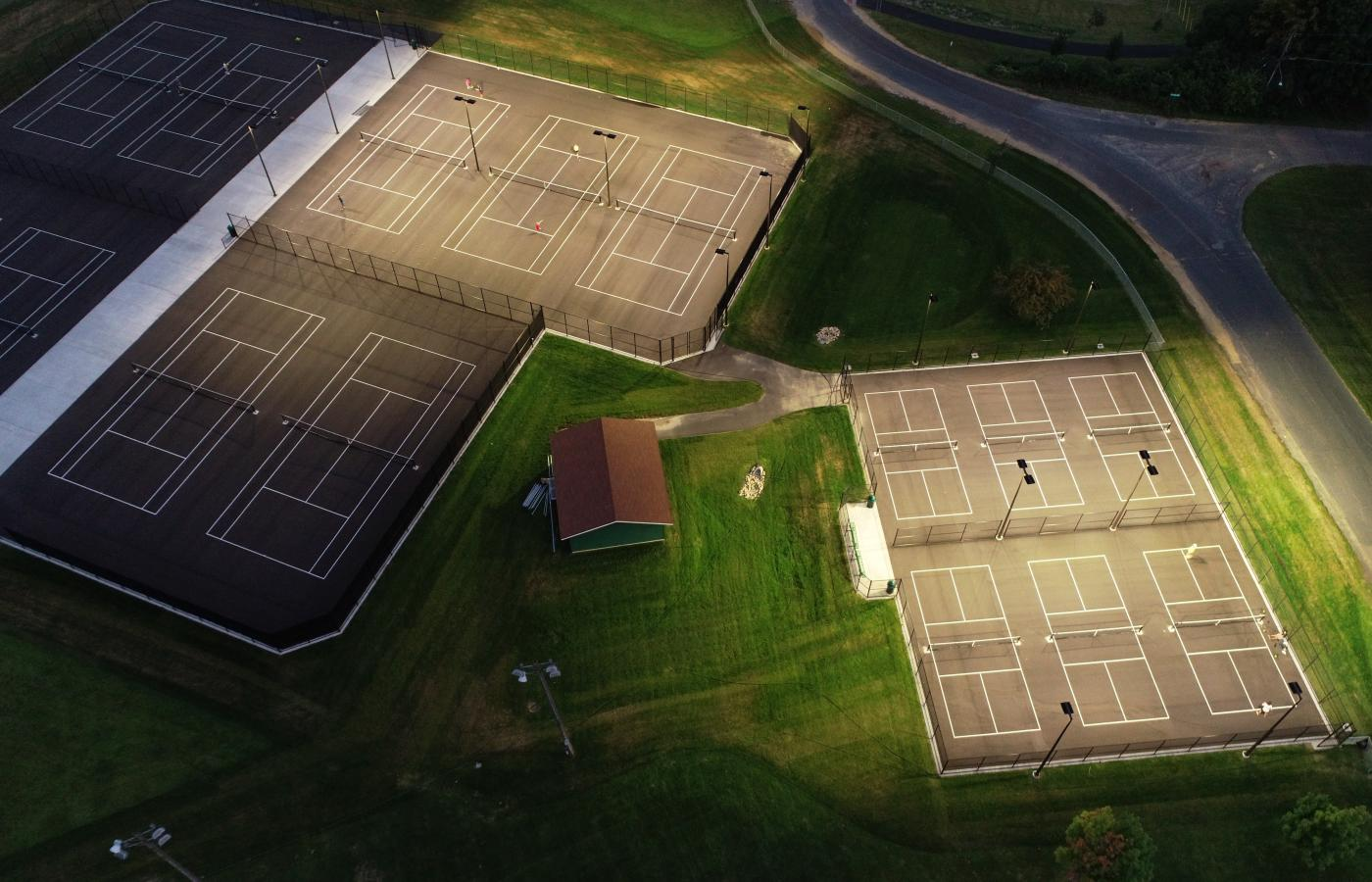 Chisago Lakes Tennis Courts - 2