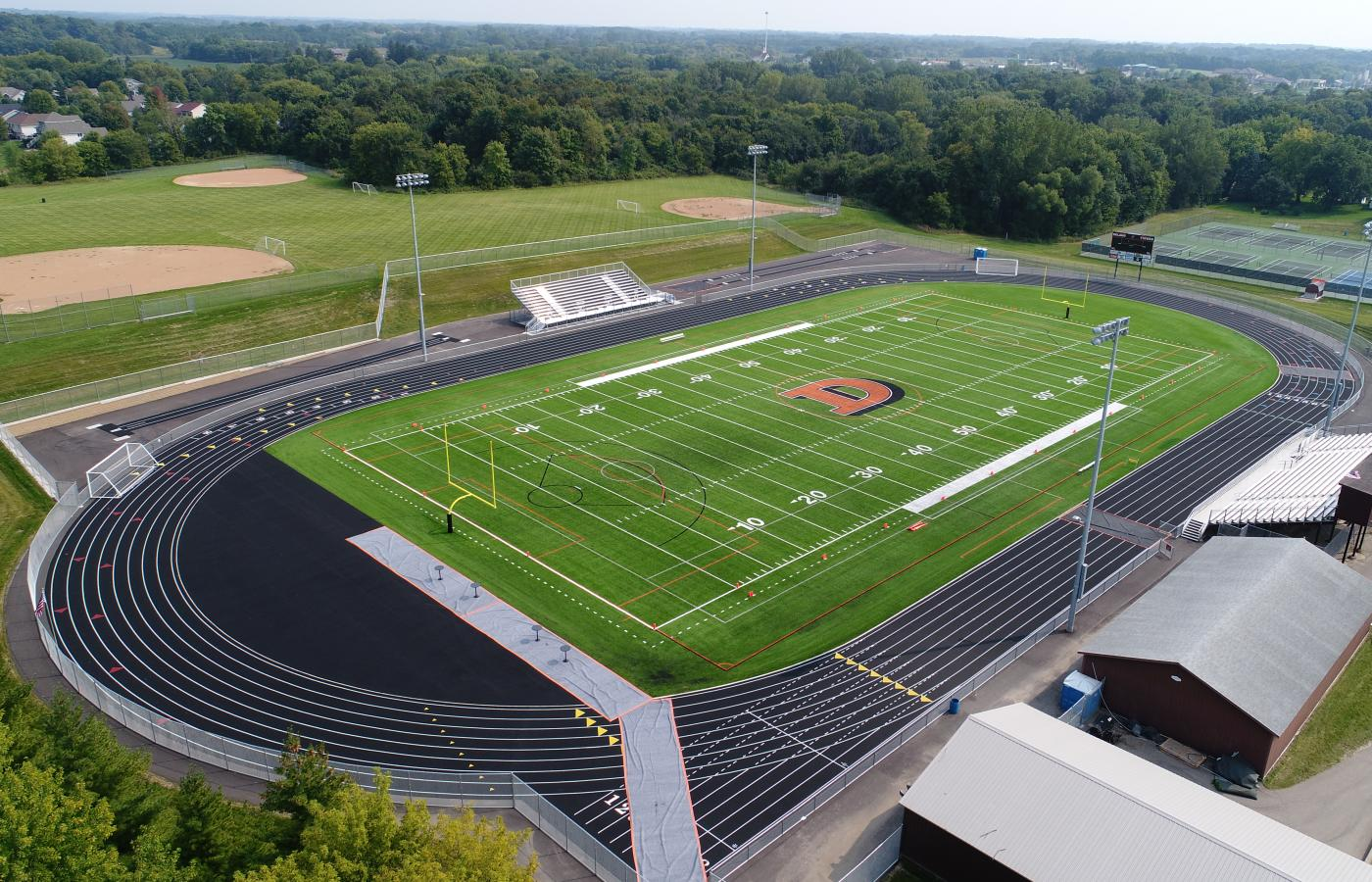 Delano High School Synthetic Turf Fields - 1