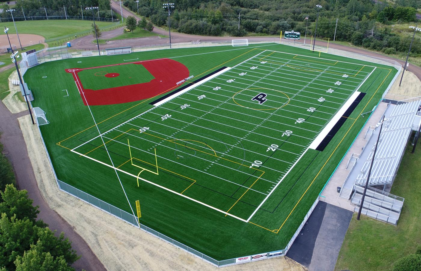 Proctor Rails Turf Field