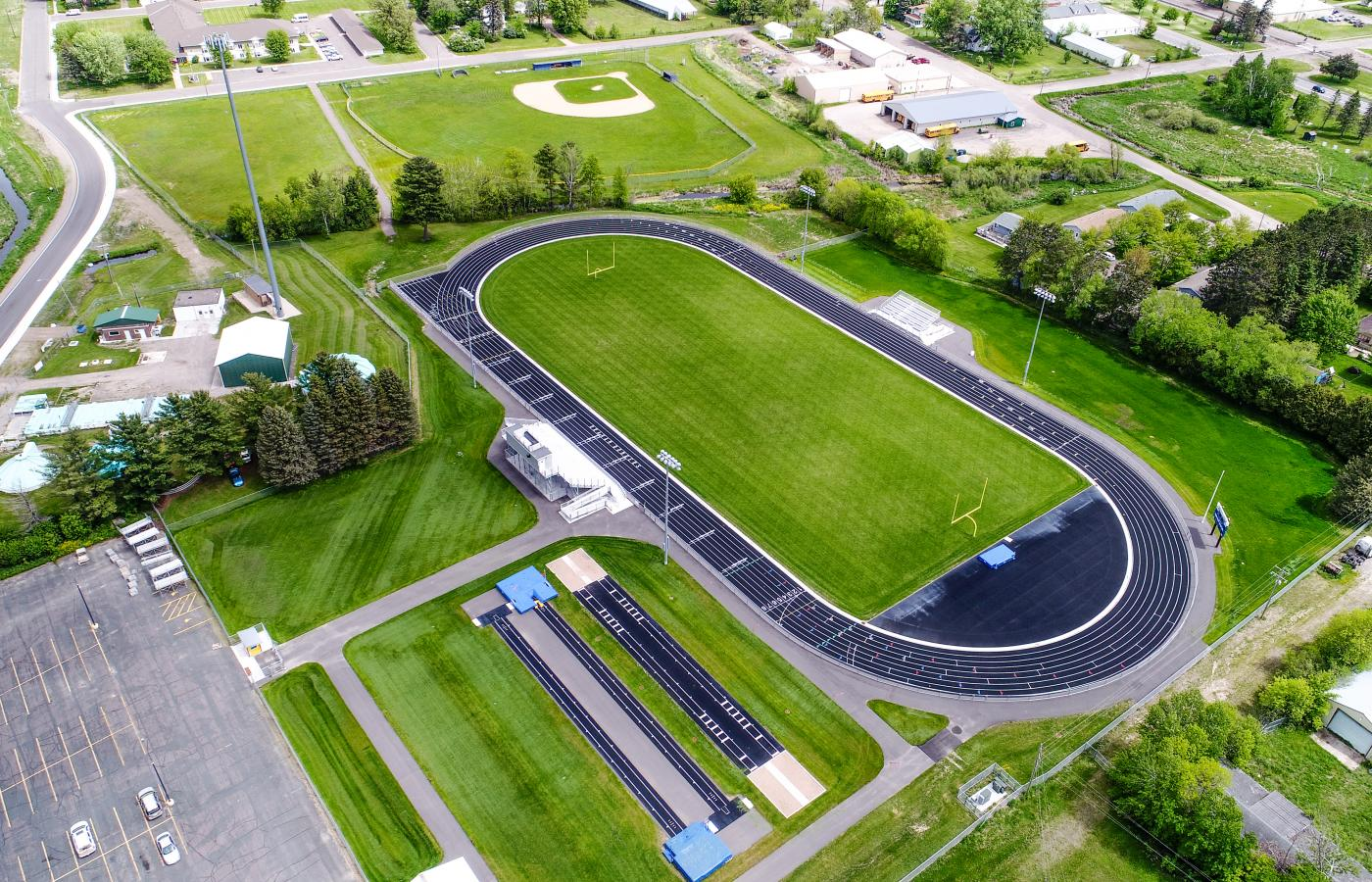Braham HS Athletic Complex - 2