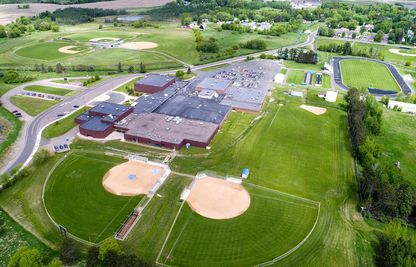 Braham HS Athletic Complex - 1