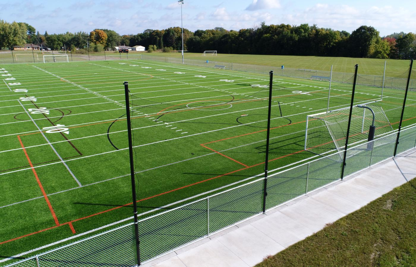 Delano High School Synthetic Turf Fields - 3