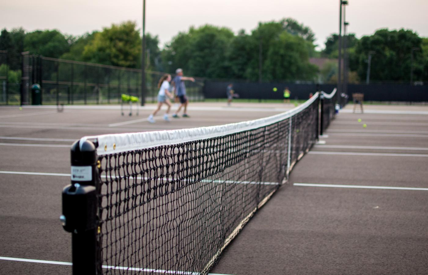 Chisago Lakes Tennis Courts - 1