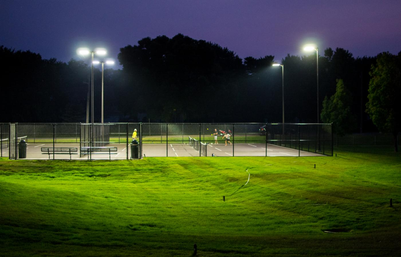 Chisago Lakes Tennis Courts - 4