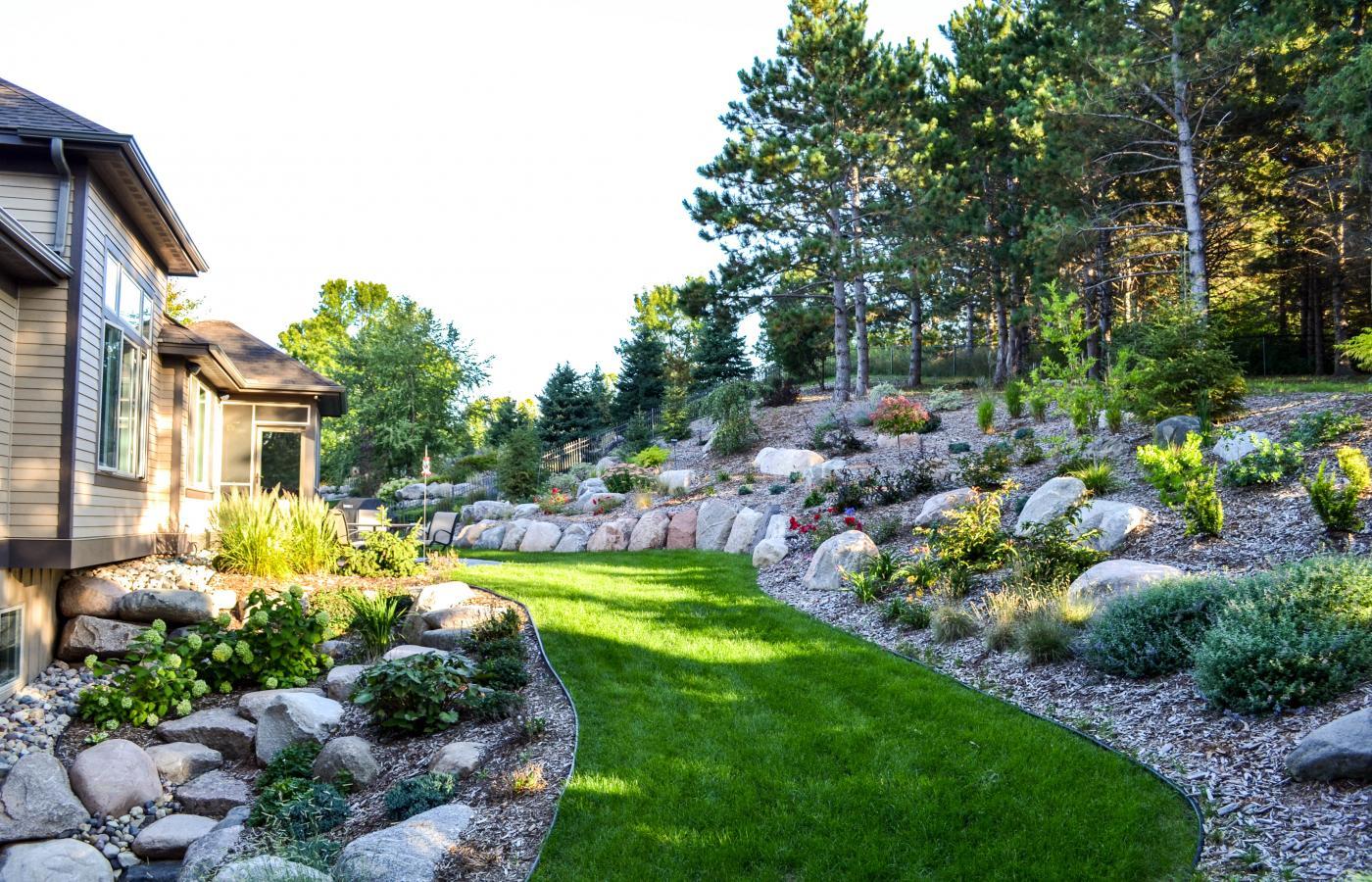 Sloped Garden - 4