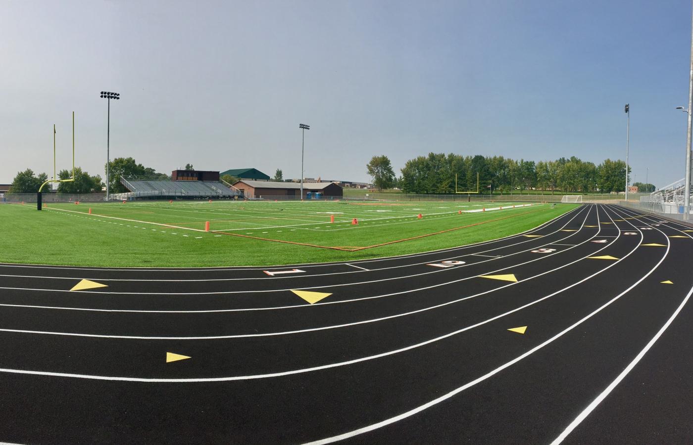 Delano High School Synthetic Turf Fields - 5