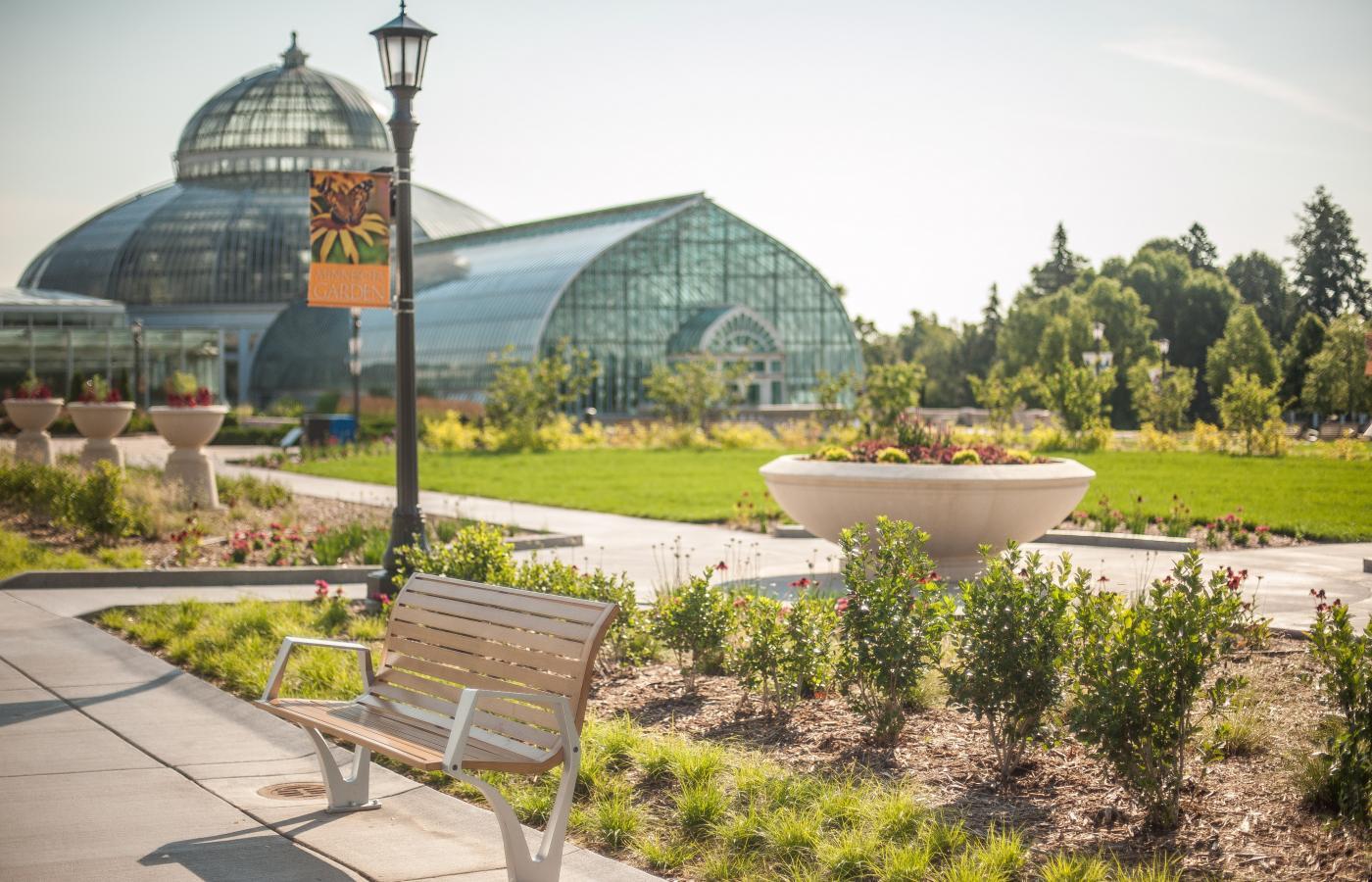 Minnesota Garden at Como Park - 1